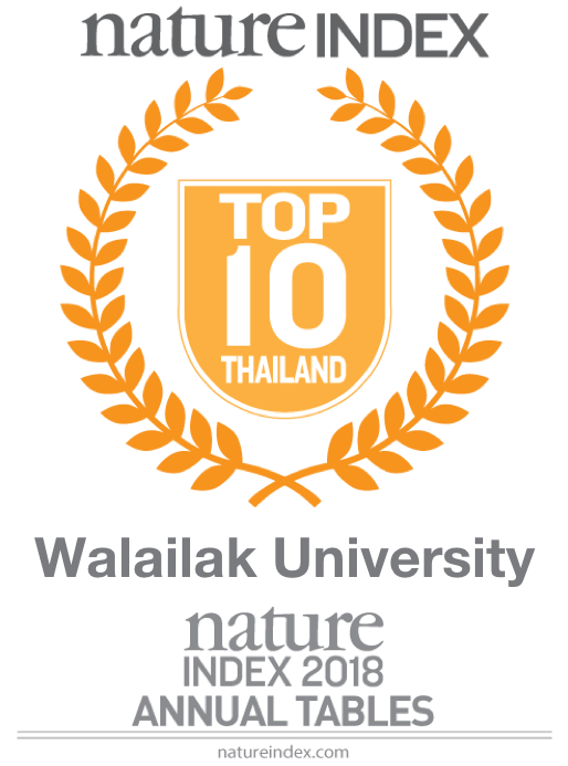 Official rankings awarded by the Nature Index