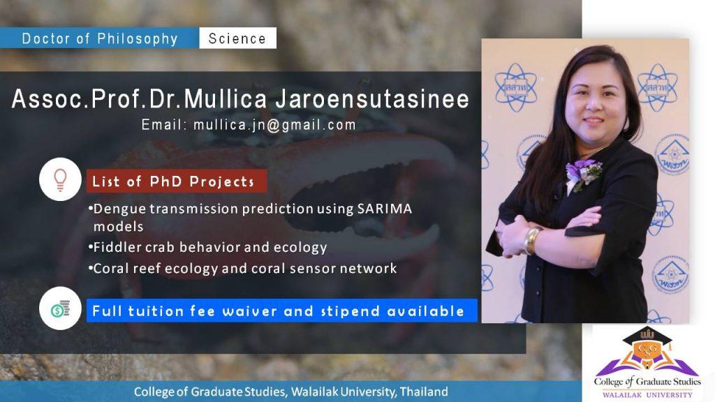 PhD in Science (International Program) – College of Graduate