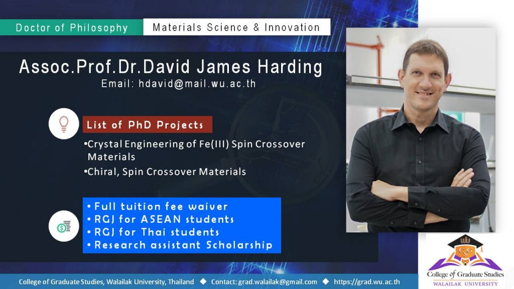 PhD in Material Science and Innovation (International