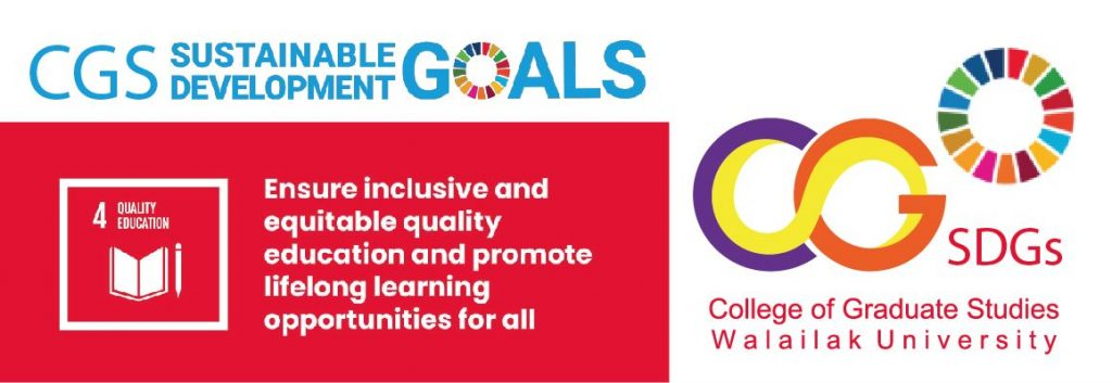 SDGs - CGS Walailak